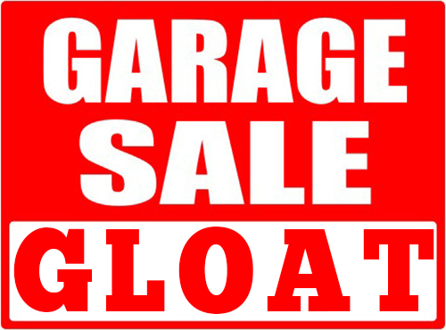 Garage Sale Gloat
